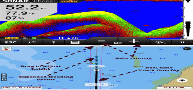 Turn your iPhone into a Sonar Fishfinder