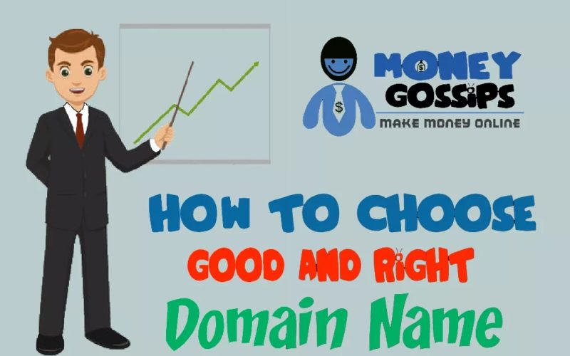 Domain names: easy selection of domain names with best possible deal