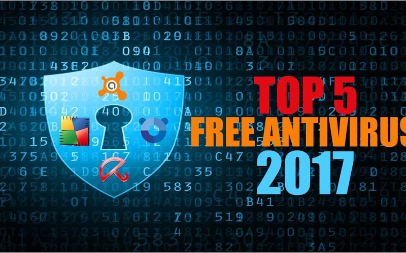 The Best 5 Anti-Virus Software for the Year 2017