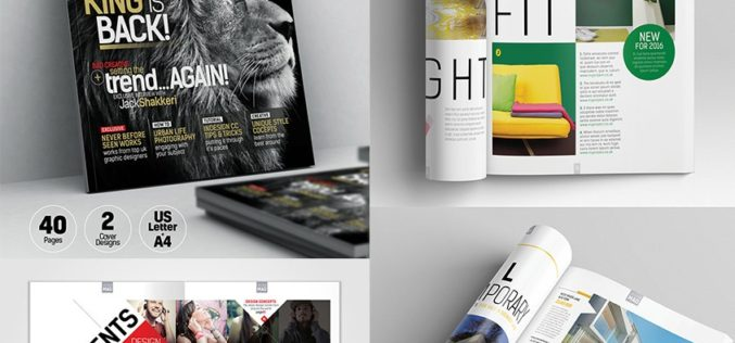20 Examples of Clean Graphic Design for Print Marketing