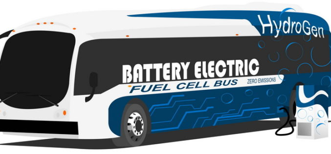 Carbon Fiber Makes World's First Fuel-Cell Bus Possible