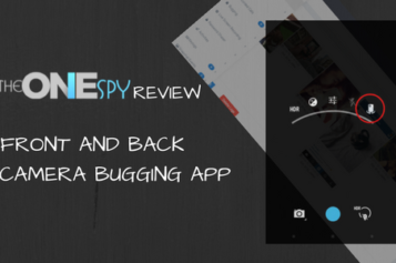 Front and back camera Bugging app TheOneSpy Review