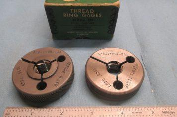 Basic concept of thread ring gauges and plug gauges