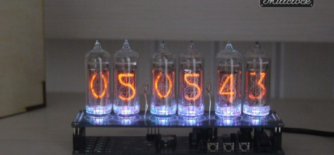 Nixie Tube Watch: Awesome Design and Convenience in Use
